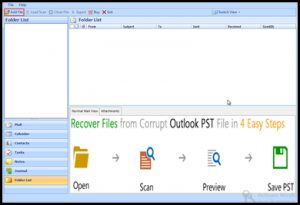A Stepwise Guide to Recover Deleted Contacts From PST File of