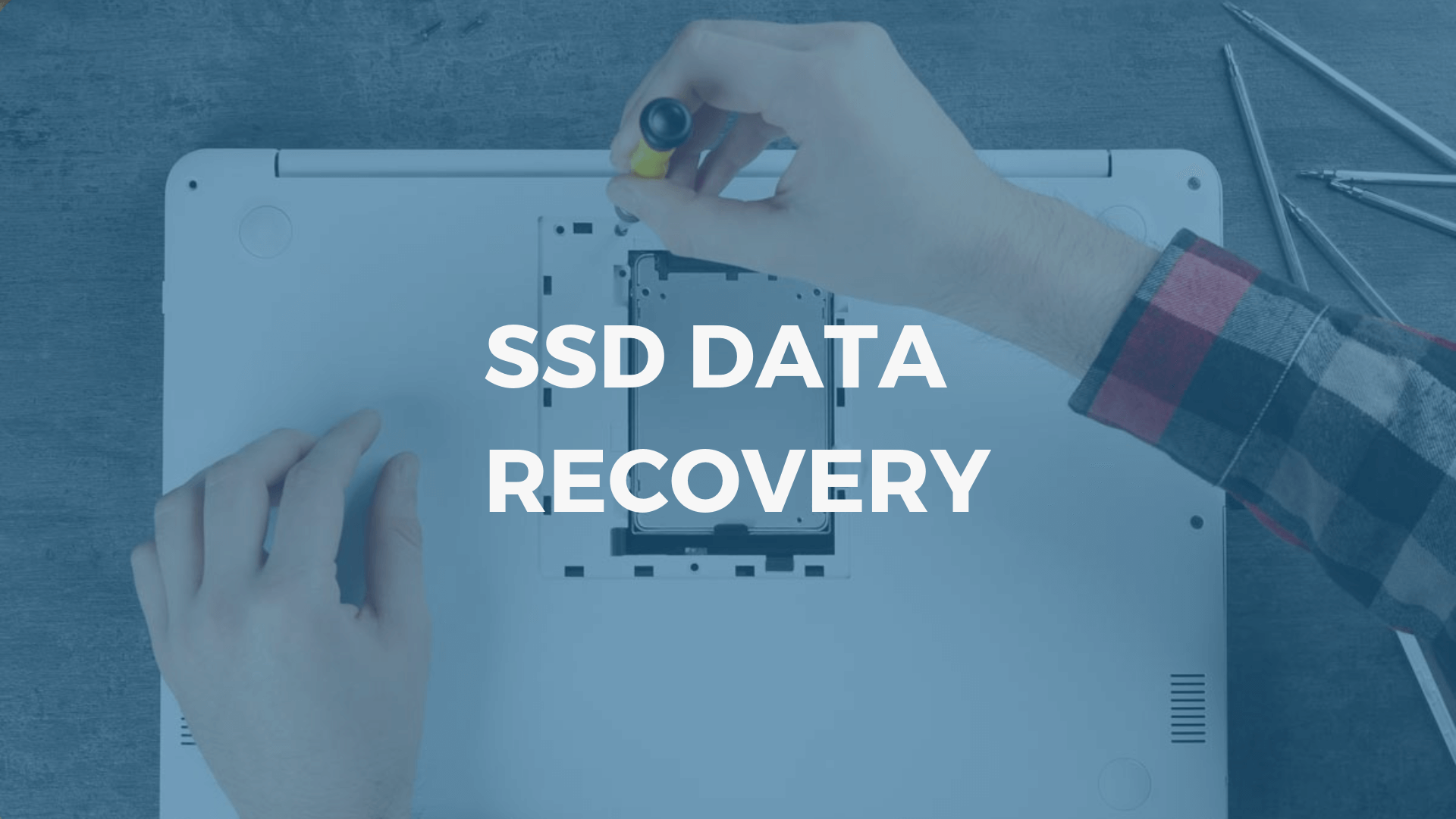 Recover permanently deleted data from SSD