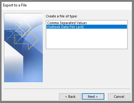 select file type