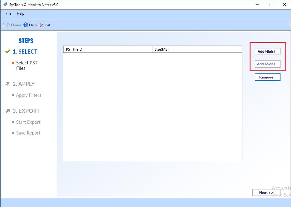 convert pst files to nsf