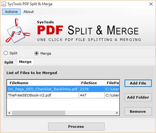 Add file option