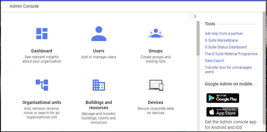 tools option