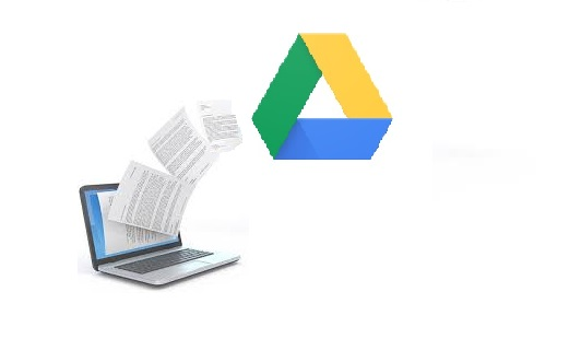 send files to G drive from pc