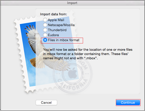 Import .olm to Mac Mail