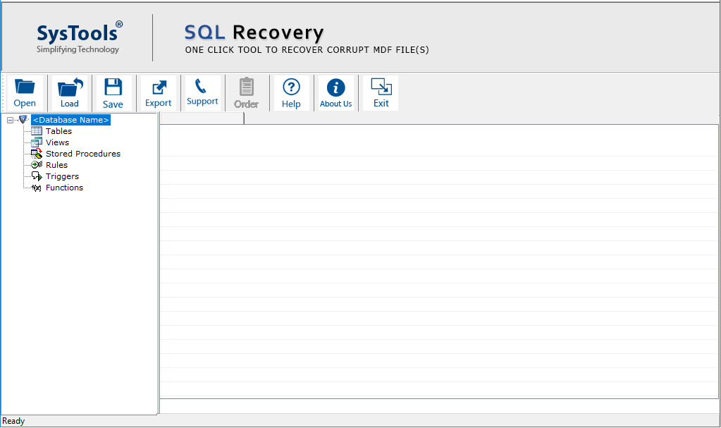 Recover SQL Database Files