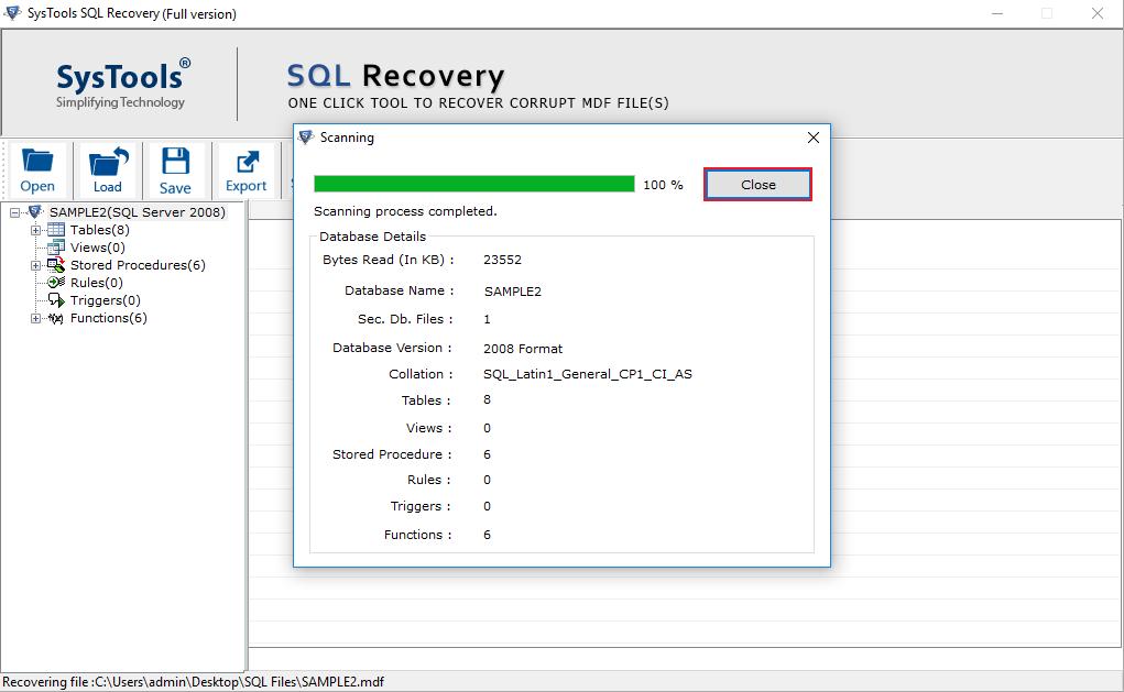 how to shrink mdf file in sql server 2008