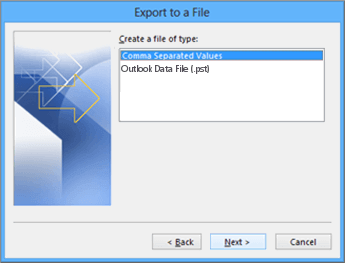 Combine Contacts in Outlook