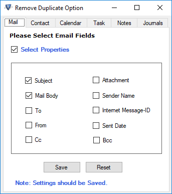 Remove Duplicate Outlook Emails