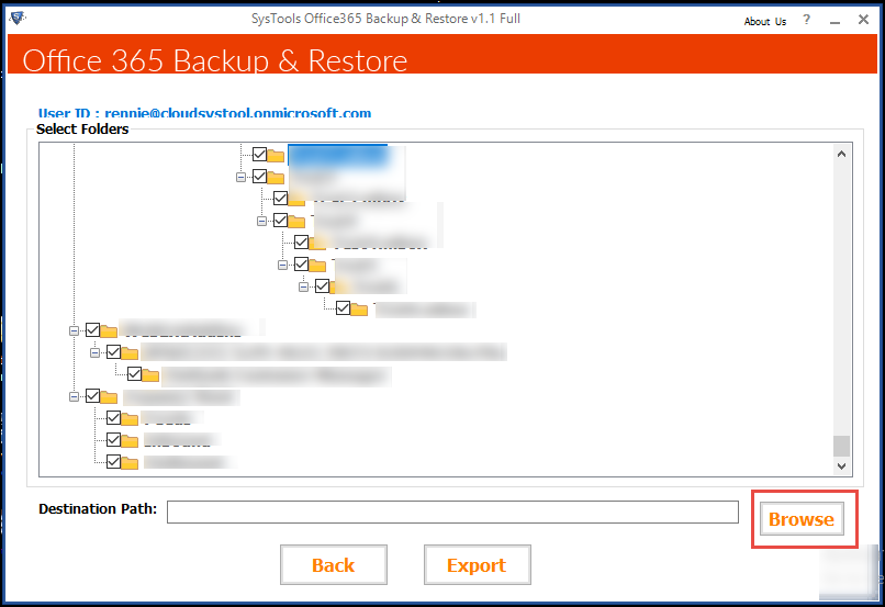 know how to Export Office 365 Mailbox to PST