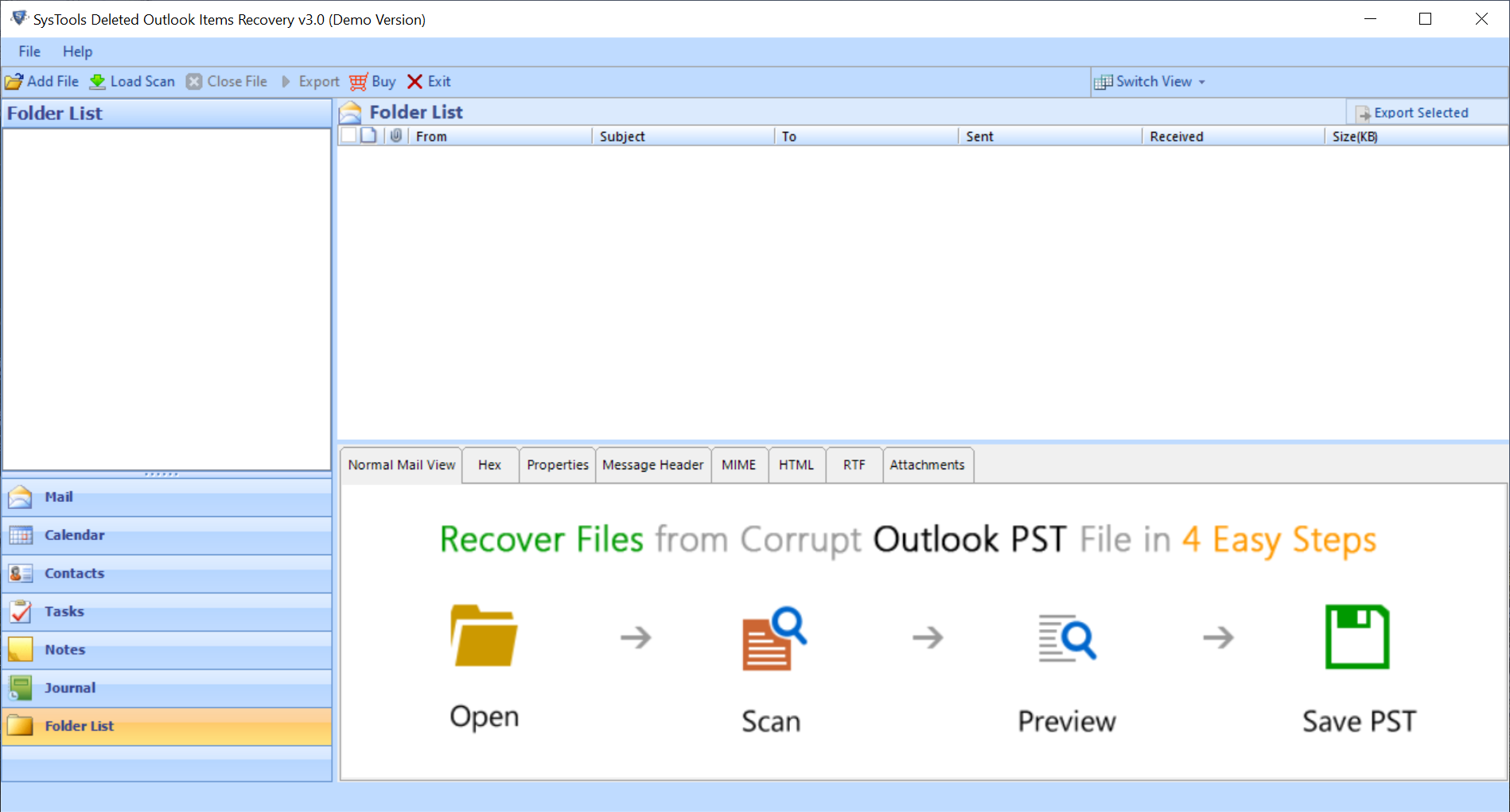 Recover lost attachments edited from Outlook 2016