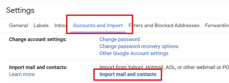 accounts-and-import