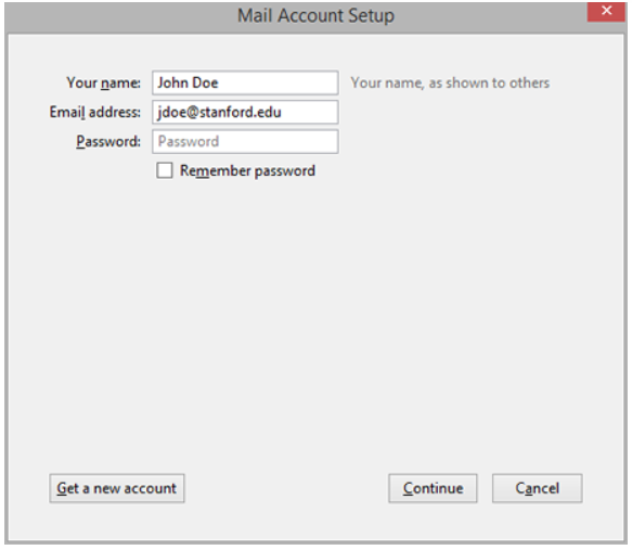 enter name  and mail id