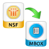 Export NSF to MBOX