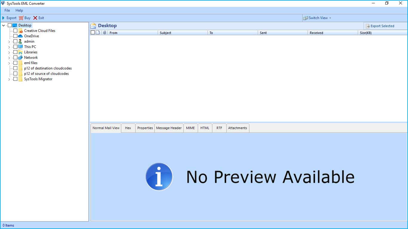 Download EML to Outlook PST Converter Tool