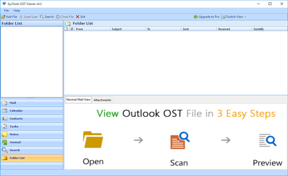 OST File Reader